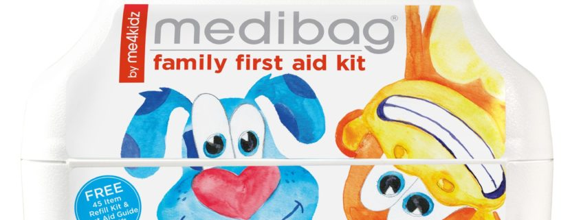 What to pack in your First Aid Bag - Dr Heyns Pediatrician